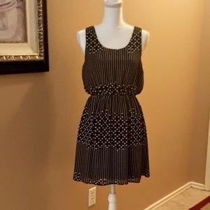⚘Cute Black & White Dress